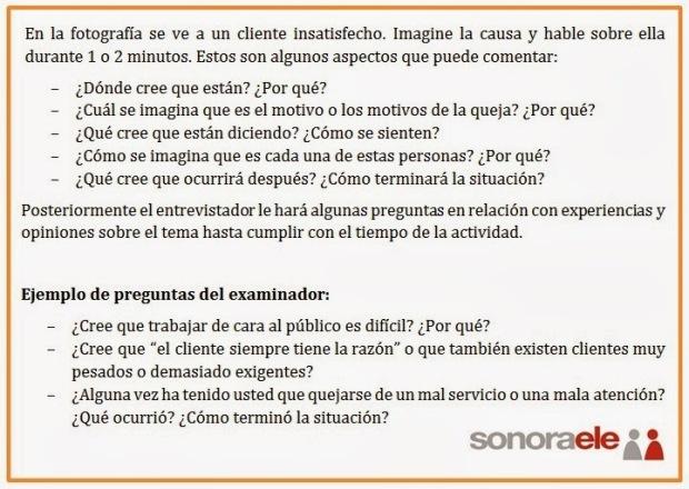expresión oral español